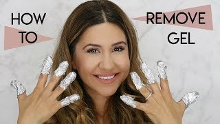 How To Remove Gel Nail Polish At Home With NO Damage
