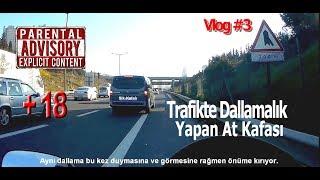 Başlangıç Motorum - Trafikteki Dallama - Küfür içerikli - MotoVlog #3