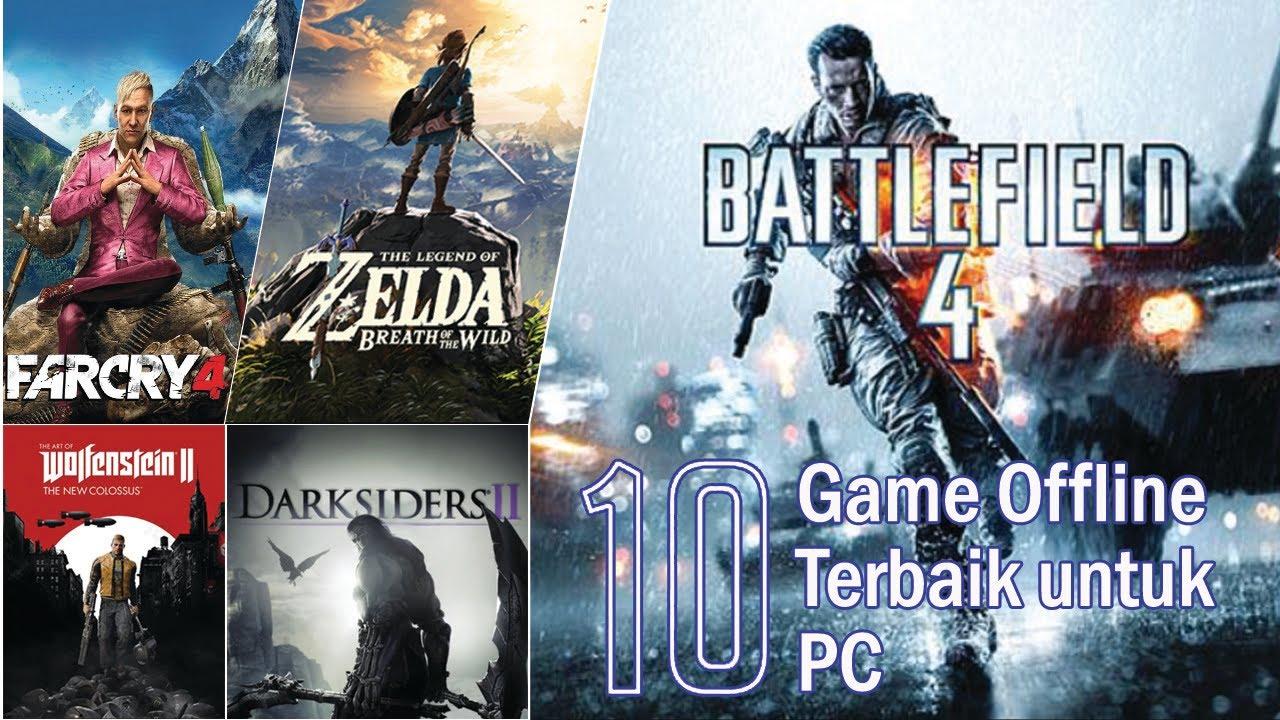 10 Game Offline Terbaik untuk PC - YouTube