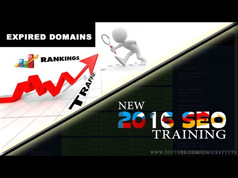 2016 SEO | Expired domain | Complete SEO course in Urdu Hindi #Cls2