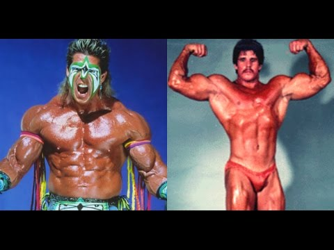 The Ultimate Warrior actually was a competitive Bodybuilder...