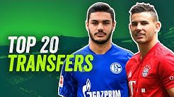 Die Top 20 Bundesliga Transfers 2019/20!