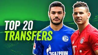 Die Top 20 Bundesliga Transfers 2019/20!