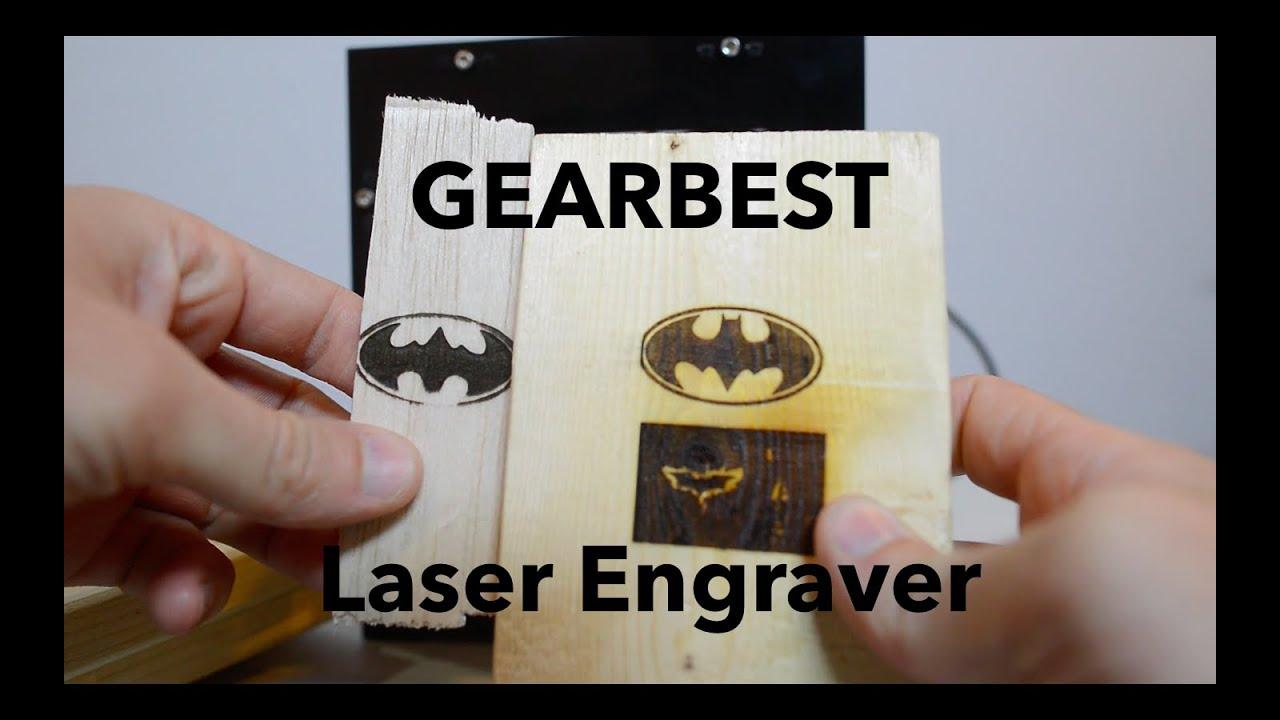 Laser Engraver Setup Review Neje Dk 8 Kz 1000mw Youtube