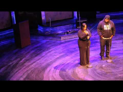Jeronimo Speaks at The Black Ensemble Theater for MLK Tribute on Mocha Chocolate Tv