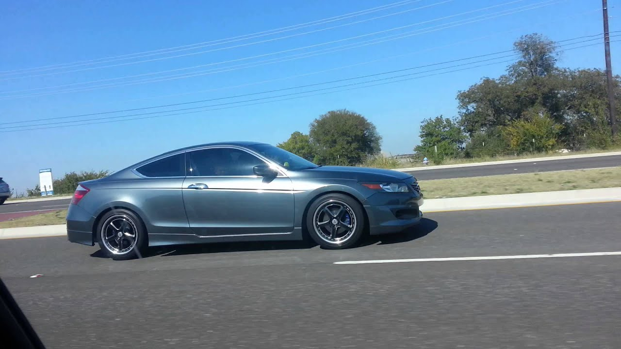 9Th Gen Accord >> 8th gen accord lowered on teins. - YouTube