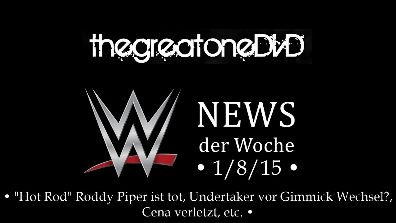 wwe news der woche 1 8 15 roddy piper ist tot undertaker gimmick wechsel etc deutsch. Black Bedroom Furniture Sets. Home Design Ideas