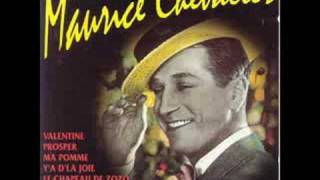Maurice Chevalier - Sous Les Toits De Paris (lyrics/parole)