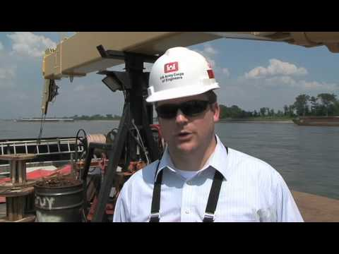 US Army Corps of Engineers Fights Receding Mississippi Waters
