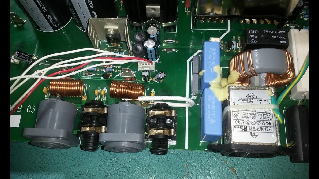 Soundcraft Girac 1000st Powered Mixer--- SMPS Repair---사운드크래프트 파워믹서 전원장치 수리