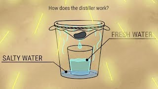 How to convert seawater into fresh water(drinking water)