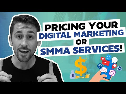 Pricing Structure For Your Digital Marketing or SMMA!