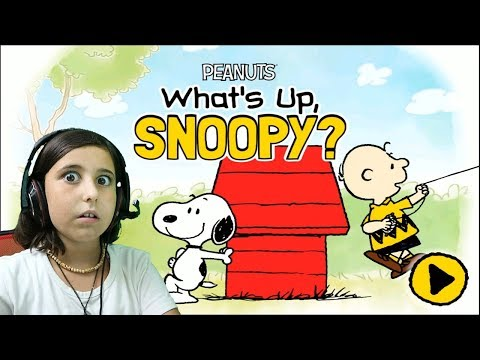 What's Up, Snoopy? - Peanuts Gameplay