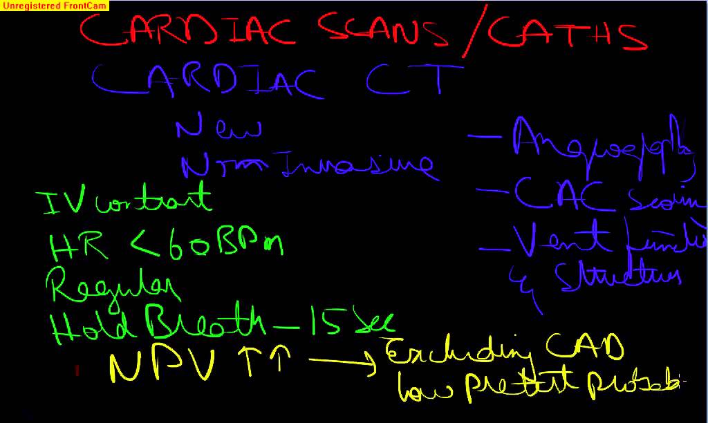 Board Review Cardiology-2 CARDIAC CATHETERIZATION AND SCANS ...
