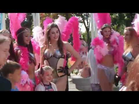 Фестиваль цветов и карнавал 2018 в Самаре/Carnival In Samara, Russia 2018
