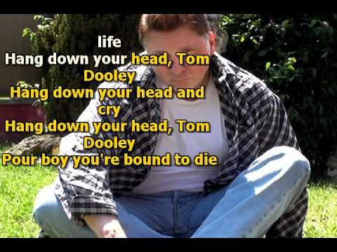 Mike Malak & The Fakers -  Tom Dooley  (Kingston Trio, cover song, lyrics)