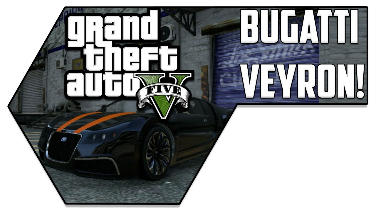adder bugatti veyron location for free gta v youtube. Black Bedroom Furniture Sets. Home Design Ideas