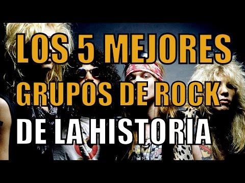 LOS 5 MEJORES GRUPOS ROCK DE LA HISTORIA