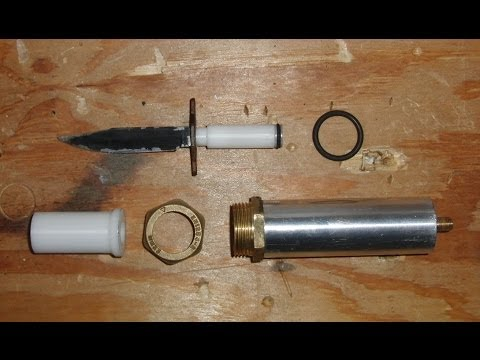 powerful home made ballistic knife