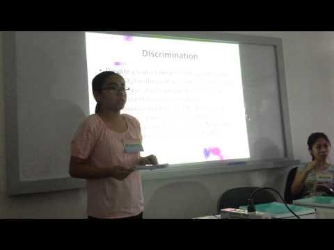 Miriam College: Urban Poor Gays Thesis defense