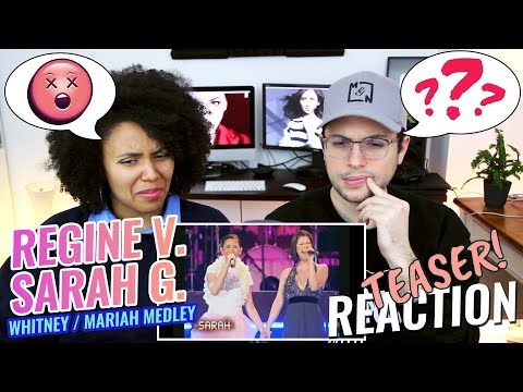 Sarah Geronimo & Regine Velasquez – Whitney x Mariah Carey Medley  Reaction TEASER