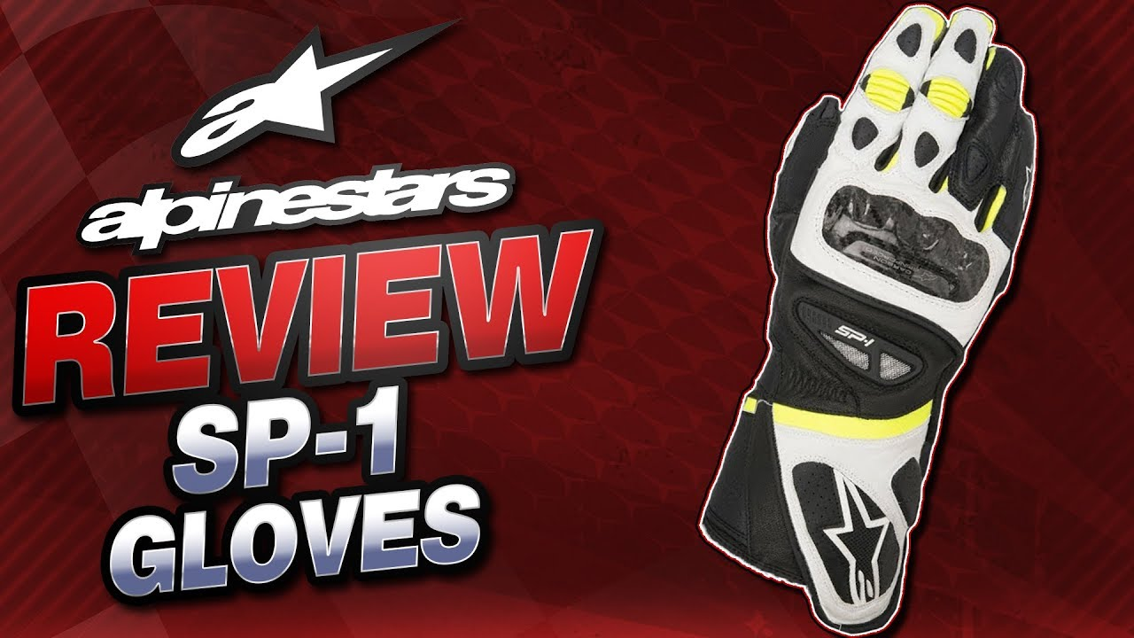 Motorcycle gloves review 2016 - 2016 Alpinestars Sp 1 Leather Glove Review From Sportbiketrackgear Com Youtube