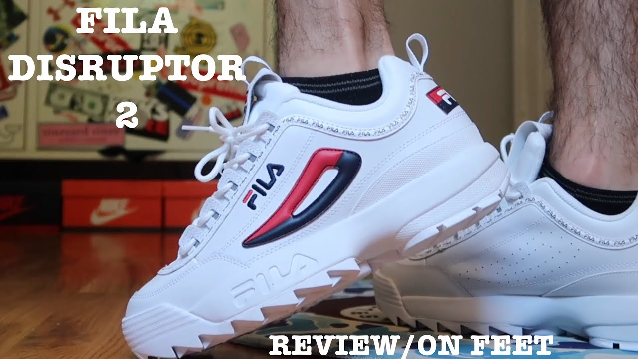 Fila Disruptor Ll Premium Review On Feet Youtube