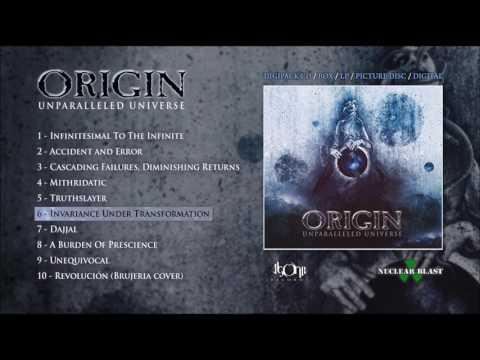 ORIGIN - Invariance Under Transformation (Official Track Stream)
