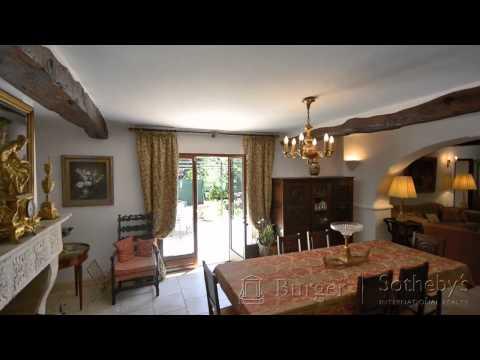 Provencal House for Sale in Cannes/Propriété exceptionnelle Cannes
