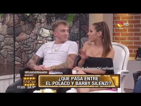 El Polaco confesó que tuvo algo con Barby Silenzi: Hubo algún que otro besito