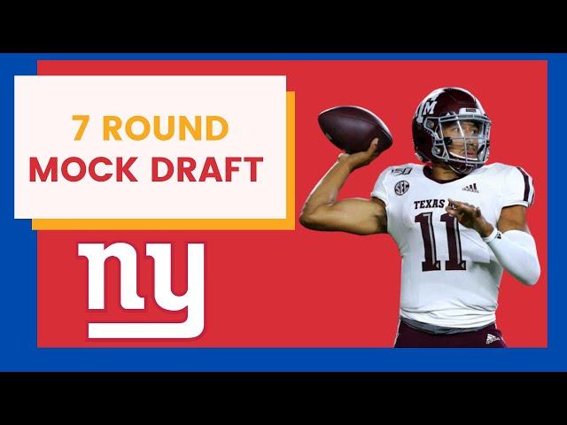 New York Giants Draft a Quarterback In Latest Mock Draft