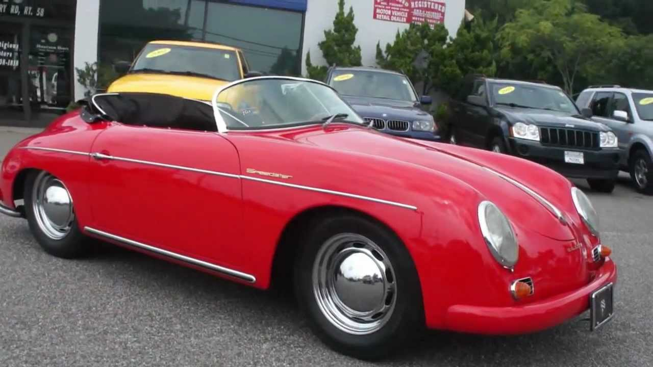 1960 Porsche Speedster Replica By Intermeccanica For Sale