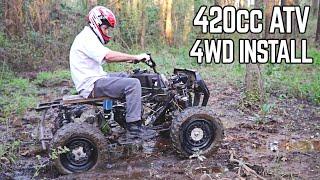 420cc ATV 4WD Install!