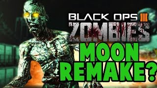 Black Ops 3 ZOMBIES - MOON REMAKE? NEW Moon Loading Screen EASTER EGG TEASER!