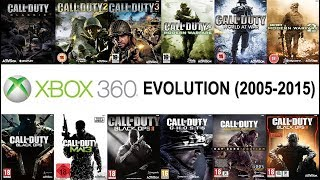 Xbox 360 Call of Duty Evolution (2005-2015)