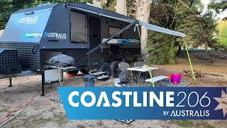 Coastline 20'6 Family Caravan External Overview