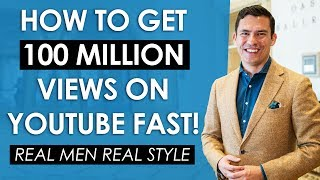 Video How to Get One Million Views on YouTube Fast! — Interview with Antonio Centeno download MP3, 3GP, MP4, WEBM, AVI, FLV Agustus 2018