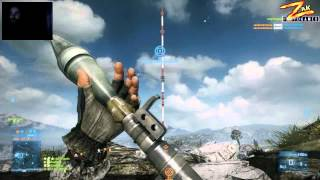 RPG-7v2 FROM A LONG DISTANCE [BF3] - Algerian Gameplay