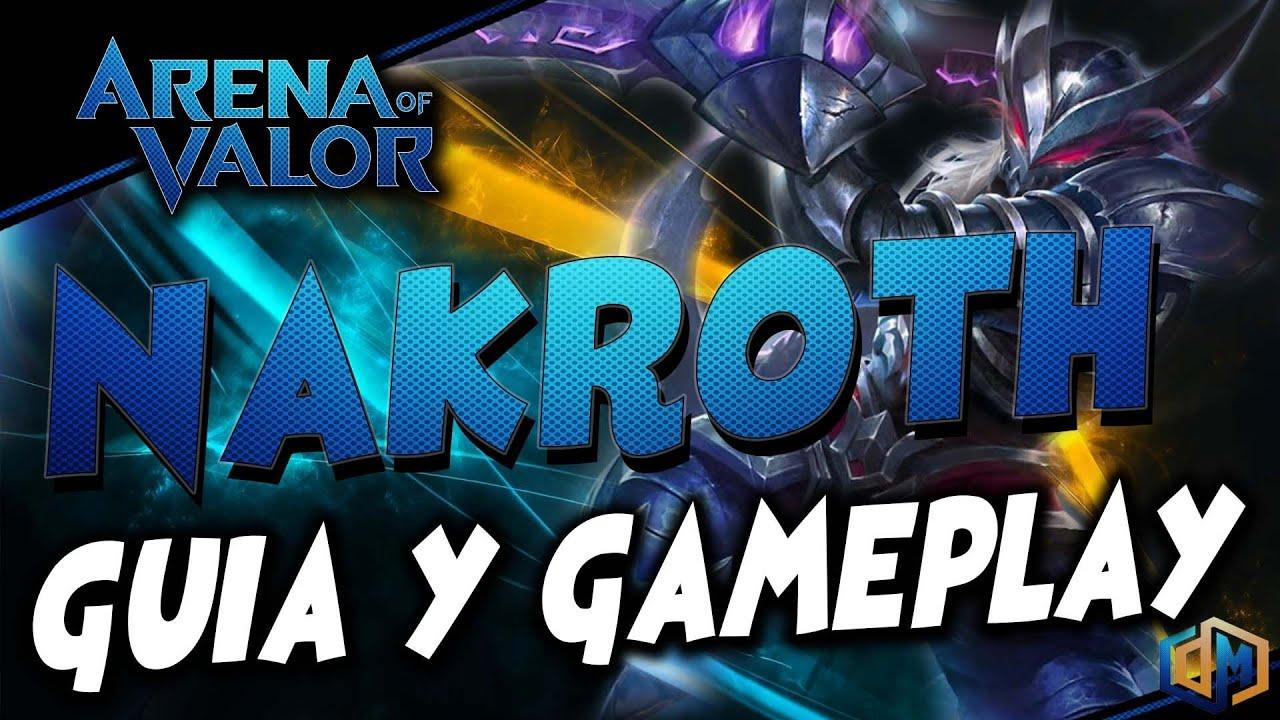 Guia Rápido MINA - Arcanas e Build - Arena of Valor - YouTube