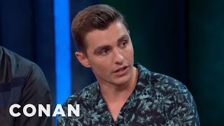 """Dave Franco Cried During The Making Of """"The LEGO Ninjago Movie""""  - CONAN on TBS"""