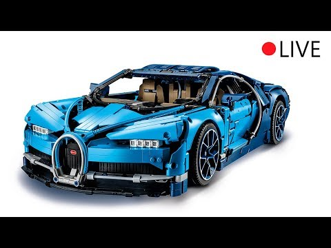 building the lego technic bugatti chiron live from lego. Black Bedroom Furniture Sets. Home Design Ideas