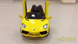 Детские электромобили Внешний обзор Ламборджини,Maserati и ml350