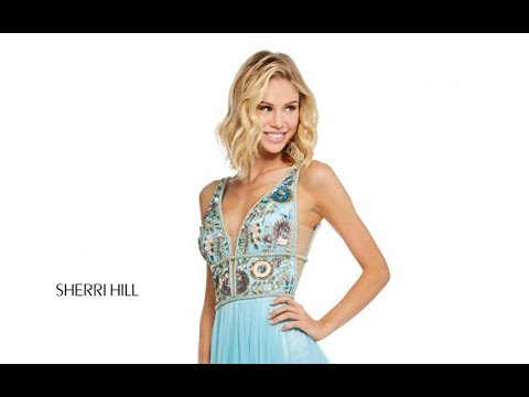 9909574f621 Sherri Hill 52473 Prom Dress - YouTube
