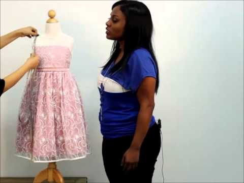 Mygirldress How To Measure Your Child For Flower Girl Dress
