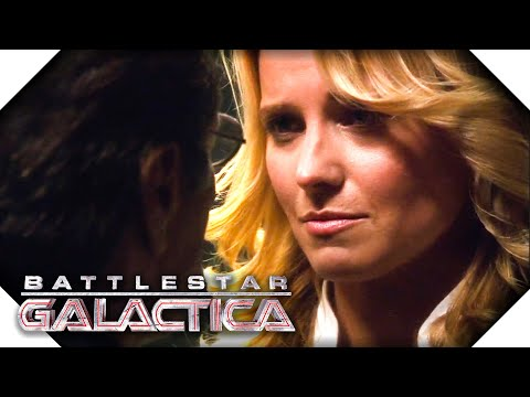 Battlestar Galactica | The Cylons Come On Board The Galactica