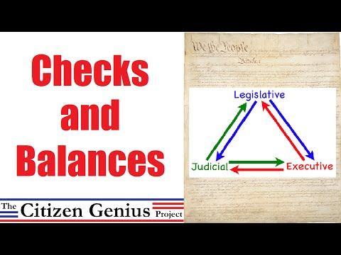checks and balances 3 essay In an essay of 400 words, summarize the responsibilities of the three branches of the united states government and the system of checks and balances.