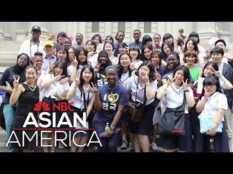 Harlem Students Meet Korean Students In Cross-Cultural Manhattan Scavenger Hunt | NBC Asian America