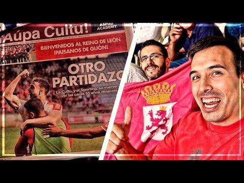 Cultural Leonesa vs Sporting (0-2) | VUELVO a CRUZAR EL NEGRÓN | Daily Vlog + Post | J.9 Liga 123