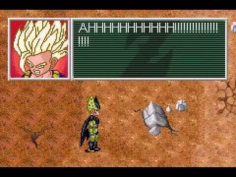 Dragon Ball Z Legacy Of Goku 2 (Gba) - Gohan SSJ2 Vs Cell