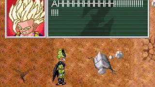 dragon ball z legacy of goku 2 gba gohan ssj2 vs cell